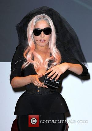 Gaga Steals The Show At Electronics Exhibition