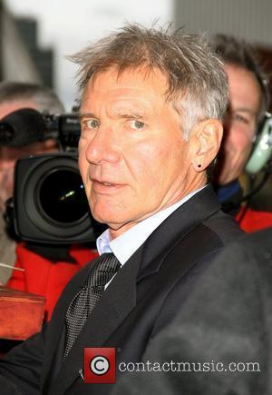 Harrison Ford arriving at the Ed Sullivan theatre for The Late Show New York City, USA - 08.11.10