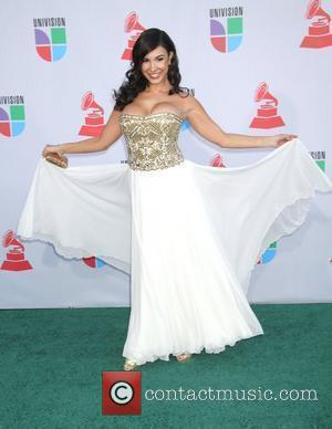 Mayra Veronica 11th Annual Latin Grammy Awards held at the Mandalay Bay Hotel and Casino - Arrivals Las Vegas, Nevada...