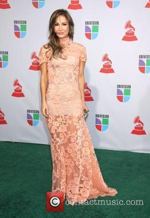Claudia Liette 11th Annual Latin Grammy Awards held at the Mandalay Bay Hotel and Casino - Arrivals Las Vegas, Nevada...