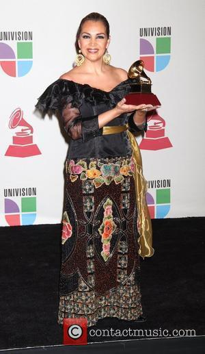 Aida Cuevas 11th Annual Latin Grammy Awards held at the Mandalay Bay Hotel and Casino - Press Room Las Vegas,...