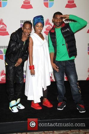 Choc Quib Town 11th Annual Latin Grammy Awards held at the Mandalay Bay Hotel and Casino - Press Room Las...