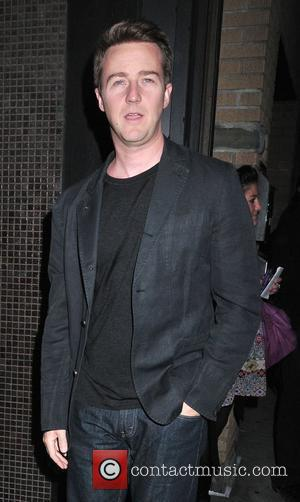 Edward Norton Screening of the new movie 'Leaves of Grass' held at the Sunshine Cinema - outside arrivals New York...