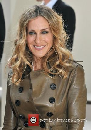 Sarah Jessica Parker London Fashion Week Spring/Summer 2011 - Burberry held at the Chelsea College of Art and Design -...
