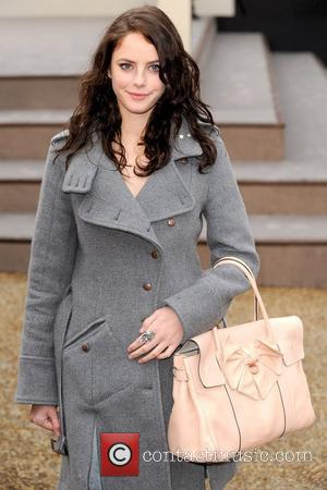 Kaya Scodelario London Fashion Week Autumn/Winter 2010 - Burberry Prorsum - held at the Chelsea College of Art and Design...