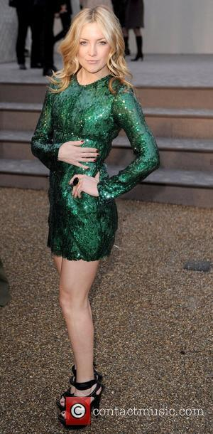 Kate Hudson London Fashion Week Autumn/Winter 2010 - Burberry Prorsum - held at the Chelsea College of Art and Design...