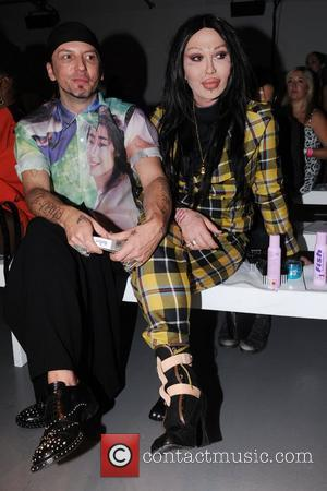 Pete Burns  London Fashion Week Spring/Summer 2011 - Pam Hogg - Front Row and Catwalk London, England - 19.09.10