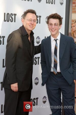 Michael Emerson & Sterling Beaumon (Older and Younger Ben) 'Lost Live: The Final Celebration' held at UCLA Royce Hall Los...