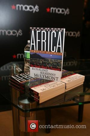 Rosalind McLymont's book Africa Macy's celebrates you Black History Month  New York City, USA - 18.02.10