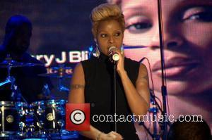Mary J. Blige BET special ' Words and Music by Mary J. Blige' at BET Studios New York City, USA...