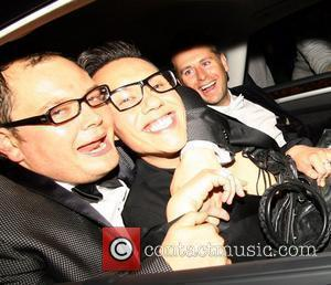 Alan Carr and Gok Wan Guests attend Elton John's White Tie and Tiara Ball London, England - 24.06.10