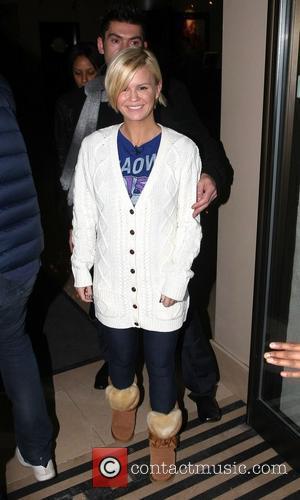 Kerry Katona leaves the May Fair hotel London, England - 14.01.11
