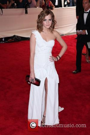 Emma Watson The Costume Institute Gala Benefit to celebrate the opening of the 'American Woman: Fashioning a National Identity' exhibition...