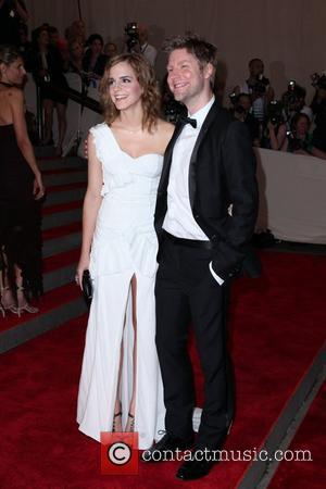 Emma Watson and Christopher Bailey The Costume Institute Gala Benefit to celebrate the opening of the 'American Woman: Fashioning a...
