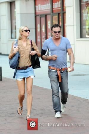 Mickey Rourke out shopping with girlfriend Anastassija Makarenko in the West Village. New York City, USA - 02.07.10