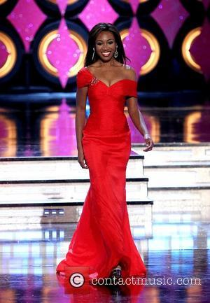 Miss Rhode Island Deborah Saint-Vil 2011 Miss America Preliminary Day 1 at Planet Hollywood Theater of Performing Arts at Planet...