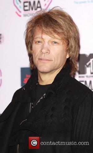 Jon Bon Jovi MTV Europe Music Awards 2010 at the La Caja Magica - Arrivals Madrid, Spain - 07.11.10