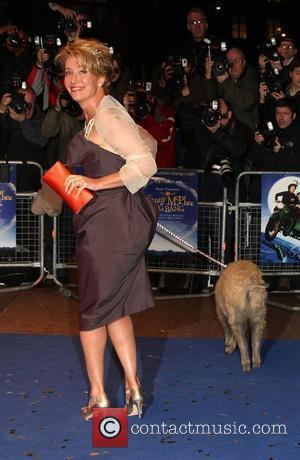 Emma Thompson 'Nanny McPhee And The Big Bang' World film premiere held at the Odeon West End. London, England -...