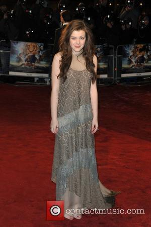Georgie Henley Royal Film Performance 2010: The Chronicles Of Narnia: The Voyage Of The Dawn Treader held at the Odeon...