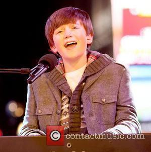 Greyson Chance performs on NBC's New Year's 2011 show New York City, USA - 31.12.10