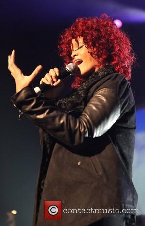 Rihanna Nicki Minaj performs live at the Hammerstein Ballroom with friends New York City, USA - 25.11.10