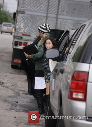 Noah Cyrus and Tish Cyrus arriving at an audition for 'Wizards of Waverly Place' at Hollywood studios Hollywood, California -...