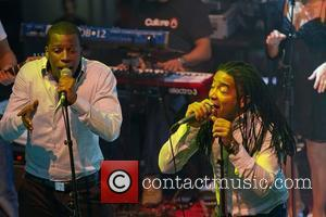 Nu Soul Family, band nominated as MTV best Portuguese Act 2010, performing live at Casino de Lisboa. Lisbon, Portugal -...