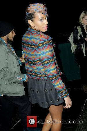 Solange Knowles Mercedes-Benz IMG New York Fashion Week Fall 2010 - Naomi Campbell's Fashion For Relief - Haiti NYC, 2010...