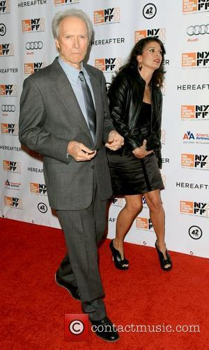 Clint Eastwood and Dina Eastwood