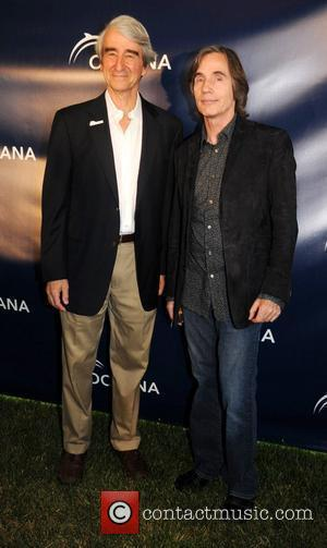 Sam Waterston and Jackson Browne Oceana's 'Splash' party in the Hamptons hosted by Sam Waterston and featuring a special performance...
