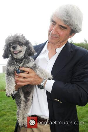 Sam Waterston and his dog Pierre Oceana's 'Splash' party in the Hamptons hosted by Sam Waterston and featuring a special...