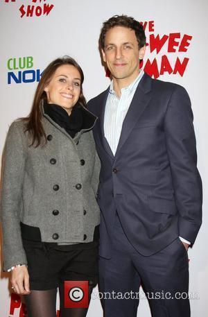 Seth Meyers and guest at the opening night of the 'Pee-Wee Herman Show' held at the Club Nokia Los Angeles,...