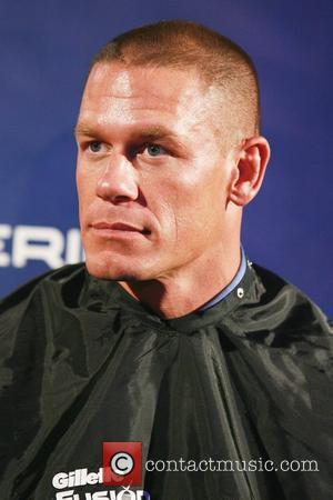 John Cena Gillette Fusion ProGlide Ultimate Summer Job contest winner announcement at Good Units at the Hudson Hotel New York...