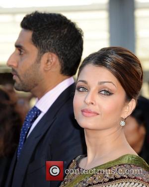 Aishwarya Rai Bachchan, Abhishek Bachchan Raavan - UK film premiere held at the BFI Southbank -arrivals. London, England - 16.06.10