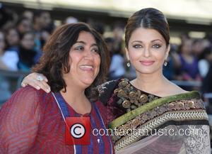 Aishwarya Rai Bachchan and Gurinder Chadha Raavan - UK film premiere held at the BFI Southbank -arrivals. London, England -...