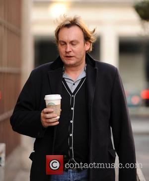 Philip Glenister arriving at the BBC Radio 1 studios London, England - 01.04.10