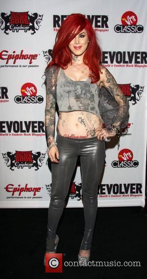 Kat Von D Revolver Golden Gods Awards at Club Nokia Los Angeles, California - 08.04.10