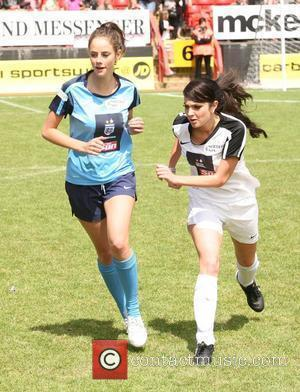 Kaya Scodelario, Tulisa Celebrity Soccer Six 2010 - Charlton Athletic FC, The Valley.  London, England - 31.05.10