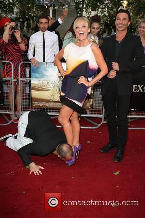 Emma Bunton and Louie Spence 'Sex and the City 2' UK film premiere held at the Odeon Leicester Square. London,...