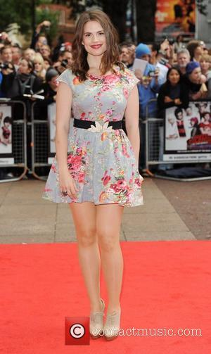 Hayley Atwell UK premiere of 'Scott Pilgrim Vs. The World' held at the Empire Leicester Square - Arrivals London, England...