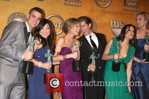 Screen Actors Guild, Jessalyn Gilsig, Mark Salling, Jenna Ushkowitz, Lea Michele, Matthew Morrison