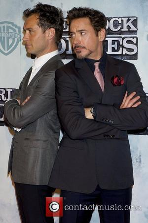 Robert Downey Jr, Jude Law Premiere of 'Sherlock Holmes' at Kinepolis cinema Madrid, Spain - 13.01.10