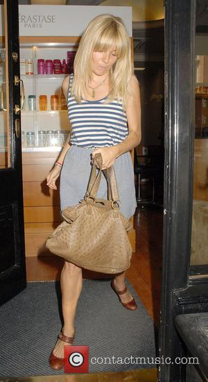 Sienna Miller leaves a hair salon in Mayfair London, England - 24.06.10
