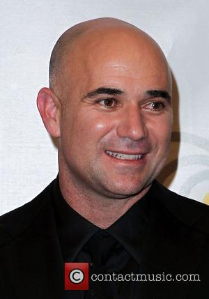 Andre Agassi Andre Agassi Grand Slam For Children at Wynn Resort and Casino in Las Vegas Las Vegas, USA -...