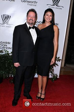Terry Fator and Taylor Makakoa Andre Agassi Grand Slam For Children at Wynn Resort and Casino in Las Vegas Las...