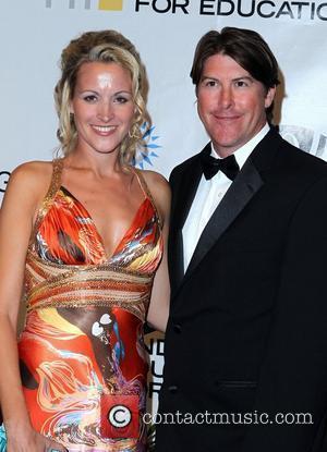 Katie McMahon and Darren Anderton Andre Agassi Grand Slam For Children at Wynn Resort and Casino in Las Vegas Las...