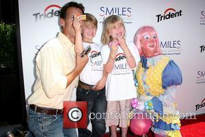 James Denton, Sheppard Denton and Malin Denton Trident 'Smiles Across America' campaign event held at The London Hotel West Hollywood,...