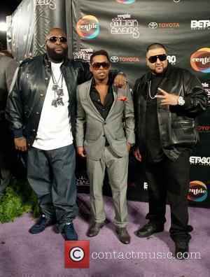 Rick Ross, Bobby V, DJ Khaled Soul Train Awards held at the Cobb Energy Performing Arts Center. Atlanta, Georga -...