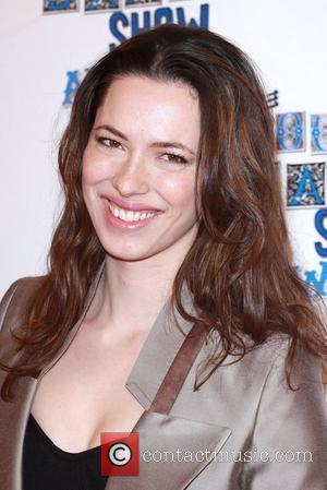 Rebecca Hall The South Bank show awards red carpet arrivals London, England - 26.01.10