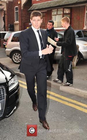 Steven Gerrard The launch of Liverpool football player Steven Gerrard's new restaurant 'Warehouse' in Southport Southport, England - 04.05.10